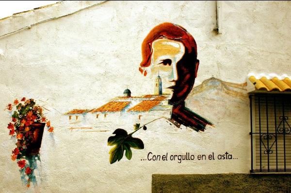 miguel hernandez murales san isidro orihuela